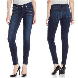 PAIGE Skinny Jean Edgemont Zipper Pockets Size 26